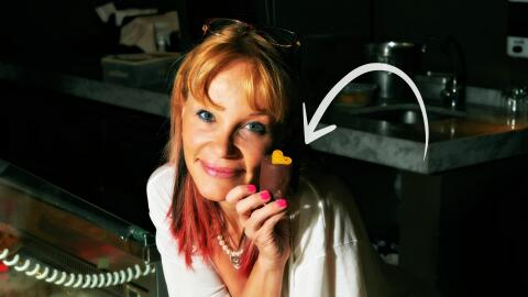 Astrid Gutshe, repostera y chocolatera