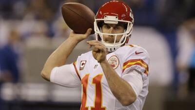 El quarterback de los Chiefs (AP-NFL).