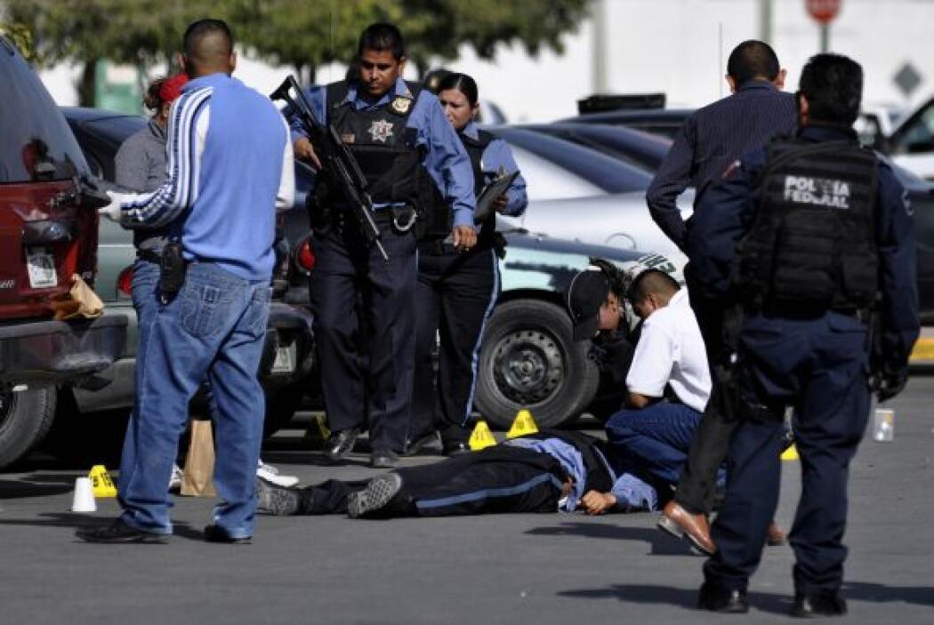 El asesinato de al menos cinco policías federales también están en el hi...