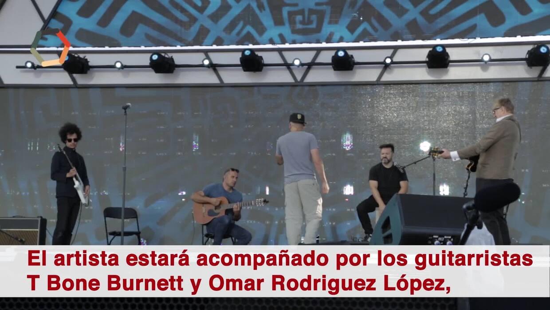 Mira el ensayo de Residente para su presentación como solista en 'RiseUp...