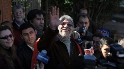 El depuesto presidente de Paraguay, Fernando Lugo.