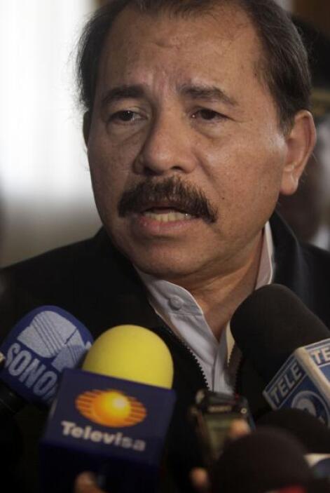 El gobernante nicaragüense, Daniel Ortega, quien asumió su mandato desde...