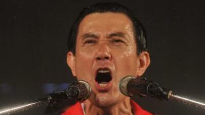 El presidente de Taiwán, Ma Ying-jeou, logró su reelección para un segun...