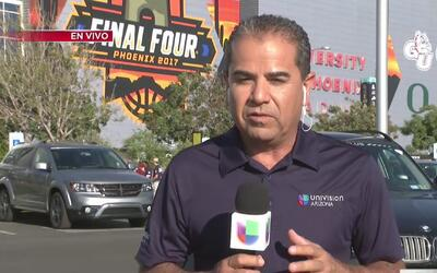 Locura en Phoenix por el Final Four