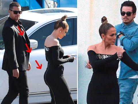 Una vez más, Jennifer captó toooodas las miradas.