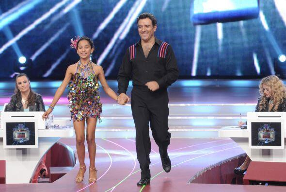 En su última participación, Héctor Sandarti bail&oa...