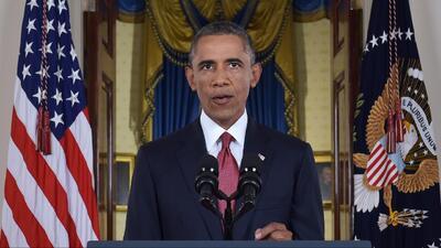 """Obama: """"habrá una coalición amplia para acabar con la amenaza terrorista..."""