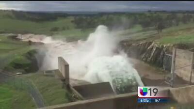 Abren compuertas de la presa Don Pedro en Stanislaus
