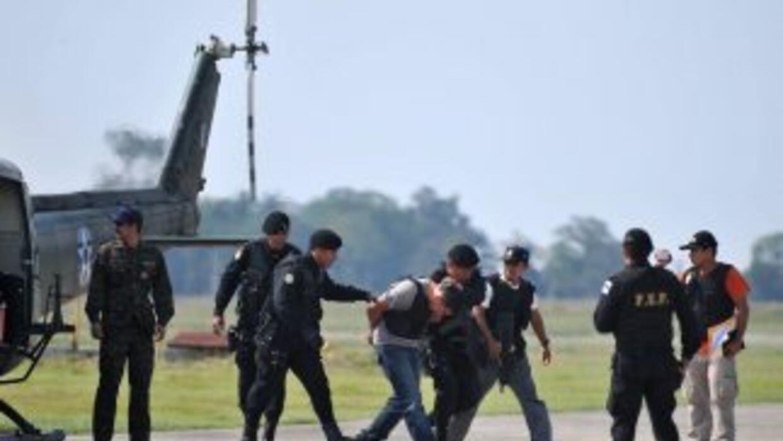 La detención de estos delincuentes se registró el sábado pasado y forma...