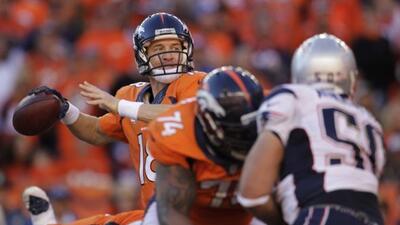 Los Broncos dominaron la línea de golpeo en el triunfo sobre los Patriot...