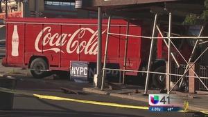 Mujer pierde la vida por camión de Coca Cola