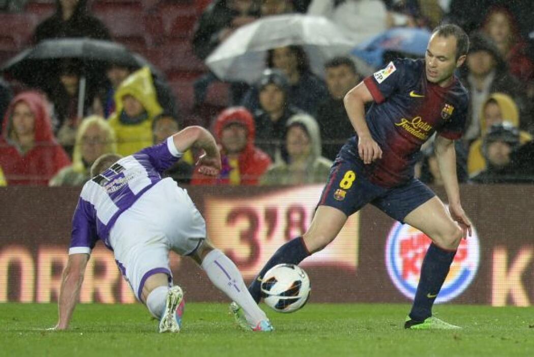 Los vallisoletanos intentaban darle pelea al Barcelona, que tampoco most...