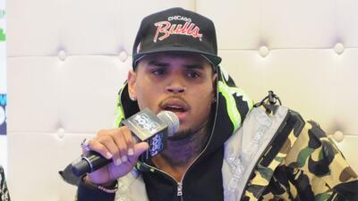 Hubo una balacera en un concierto de Chris Brown.