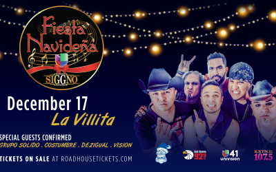 Siggno will be headlining the Fiesta Navideña concert and festiva...