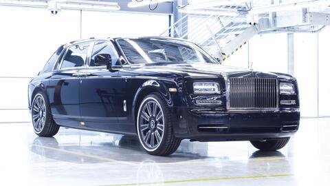 Este es el último Rolls-Royce Phantom VII.