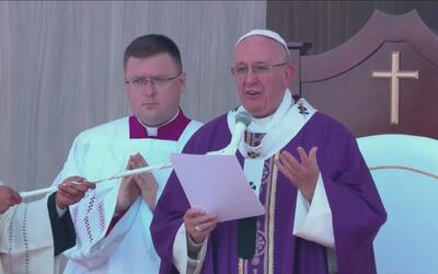 Recuento de la visita del papa Francisco a México