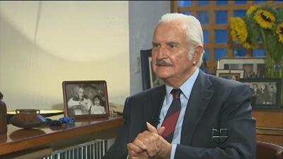 Falleció hoy el escritor Carlos Fuentes a los 83 años de edad