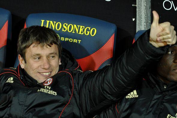 Milan cerró la jornada y Antonio Cassano, que no fue titular, sal...