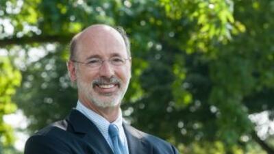 Tom Wolf es un candidato que viene del sector de negocios. Imagen cortes...