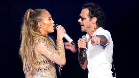 Jennifer López invitó a su exesposo Marc Anthony a cantar...