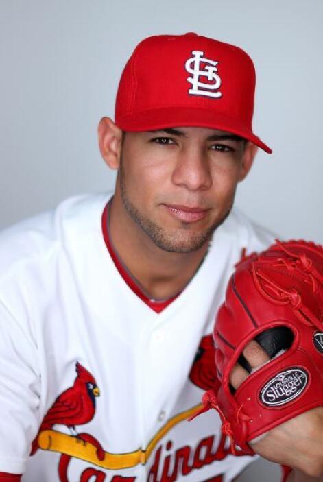 El lanzador de los Cardenales de San Luis, Eduardo Sánchez (@ESanchez52)...