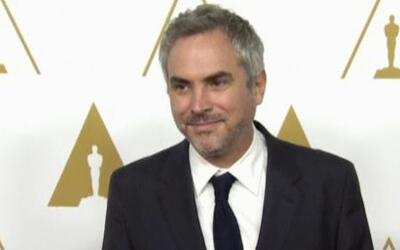 Alfonso Cuarón se siente muy apoyado por sus colegas