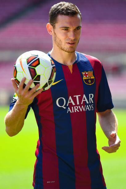 Vermaelen fue presentado con el Barça