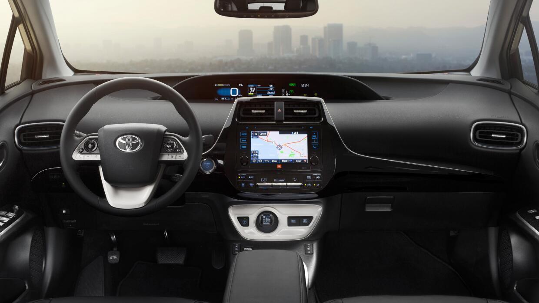 Tablero de instrumentos del Toyota Prius 2016