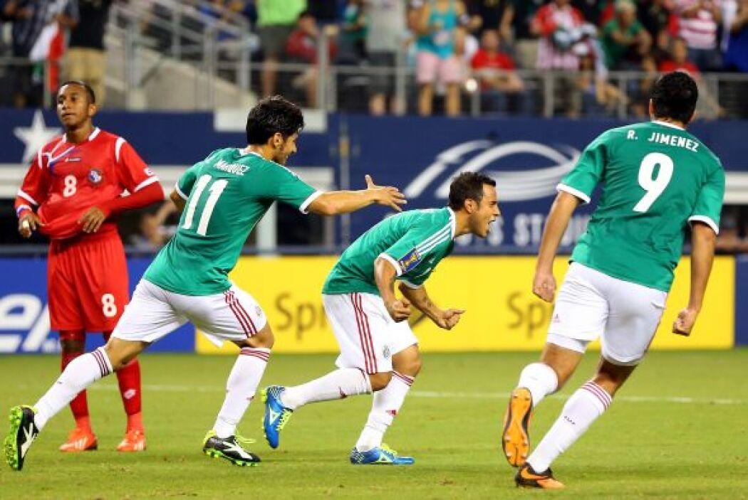 En semifinales, el Tri enfrentó de nuevo a Panamá, equipo con el que per...