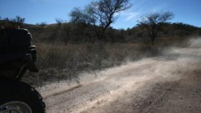Patrulla Fronteriza en Arizona.