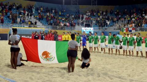 México y Panamá en el premundial de la Concacaf de f&uacut...