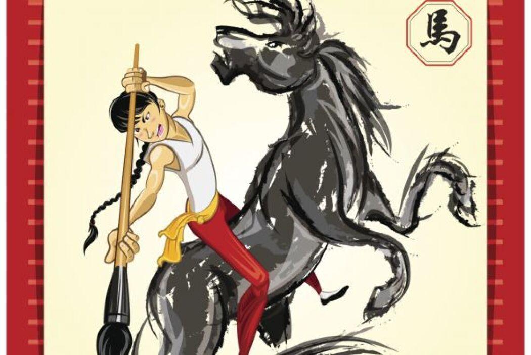 En China, el caballo representa tradicionalmente la lealtad y la energía...