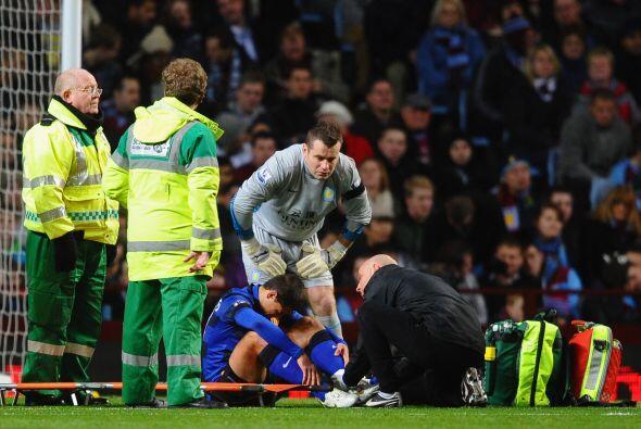 Una lesión lo marginó de las canchas y perdió su pu...