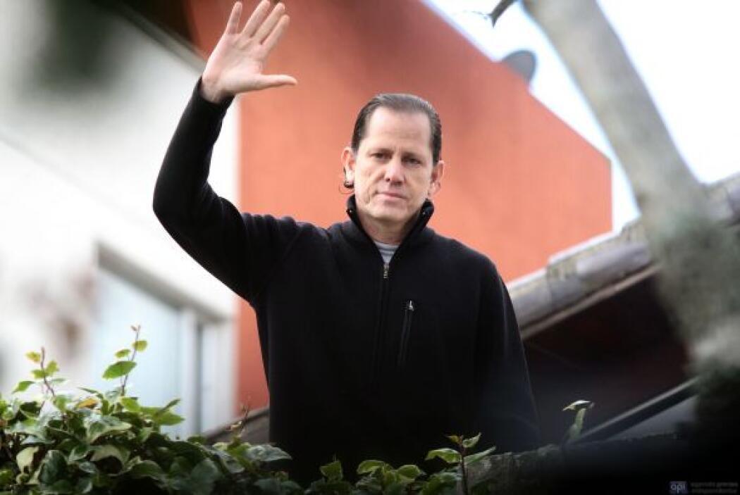 Febrero 16- El director del diario ecuatoriano El Universo, Carlos Pérez...