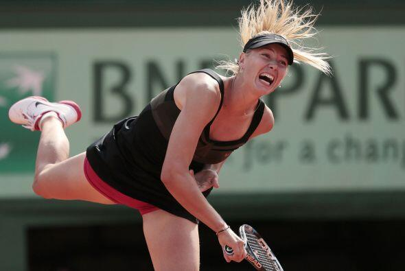 Esta derrota deja las puertas abiertas a la rusa María Sharapova para re...