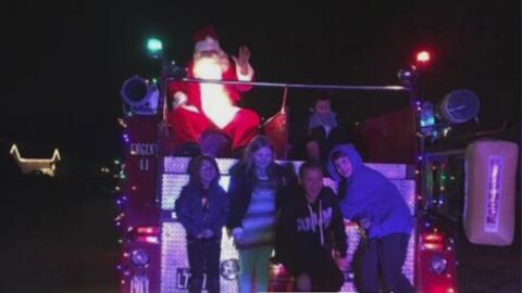 Detienen a un Papá Noel por perturbar la tranquilidad de los vecinos en...