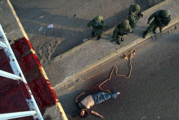 Poiré detalló que la base de datos muestra que los asesinatos son 'un fe...