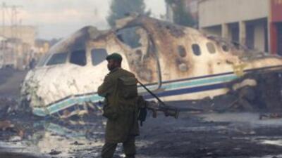 Los accidentes de avión son frecuentes en la República Democrática del C...