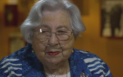"""Sobreviviente del Holocausto sobre los peores días de su vida: """"Yo perdo..."""