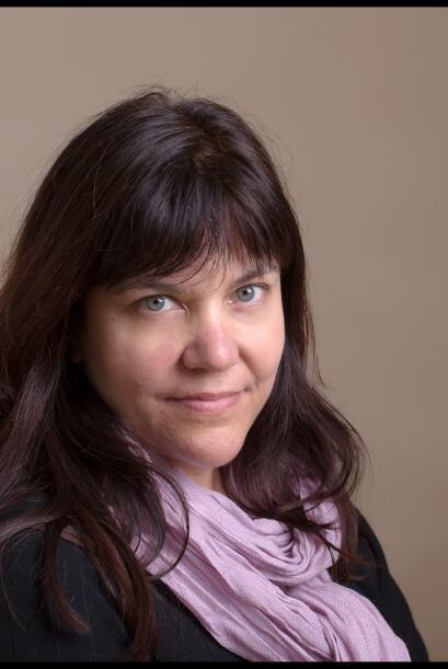 Ella es la fotógrafa Karen Wiltshire y tiene a dos niños, Poole y Dorset...