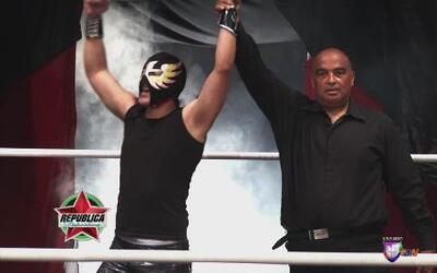 Jaque Mate Jr. vs. Águila Solitaria Jr. : Águila Solitaria Jr. derrotó a...
