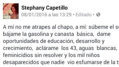 """""""A mí no me atrapes a 'El Chapo'"""""""