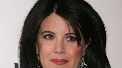 """Mónica Lewinsky: """"Me enamoré de mi jefe"""""""