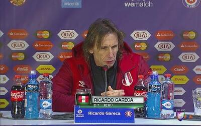 """Ricardo Gareca: """"Los muchachos entregaron todo"""""""