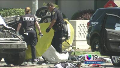 Persecución policiaca en Stockton deja dos muertos y un herido