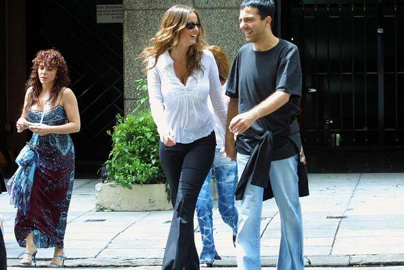 Es que Cristian se había reencontrado con su ex novia, Valeria Li...