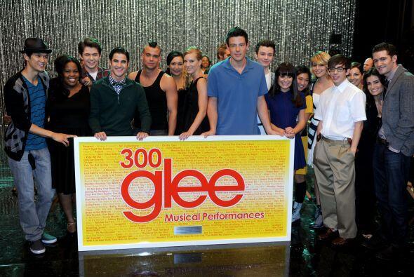 """7. ELENCO DE """"GLEE""""- A pesar de que 'Glee' no puede ser considerado como..."""