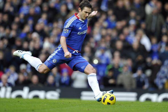 El encargado del cobro fue Frank Lampard.
