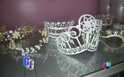 Adán Terríquez tiene una nueva línea de coronas inspirado en Jenni Rivera
