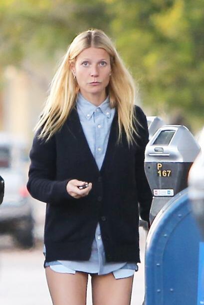 ¡Sí, Gwyneth, ya te pillamos!